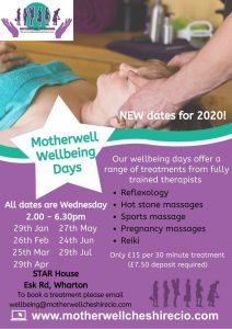 Wellbeing Days - Winsford