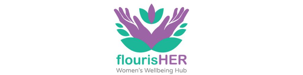 flourisHER website header